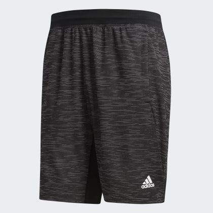 4krft Deutschland Striped Sport Heather Schwarz Black Adidas Shorts gYbfy76
