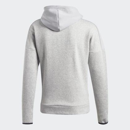 Adidas Grau Fleece Grey Heather Deutschland Medium Sport Id Kapuzenjacke dCthQrs