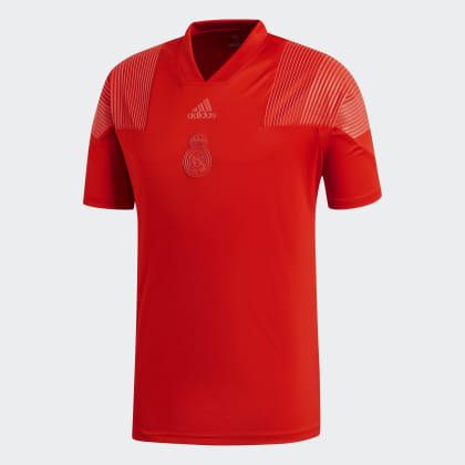Adidas Madrid Deutschland Icon Rot Red Real shirt T Vivid tCQdshrx