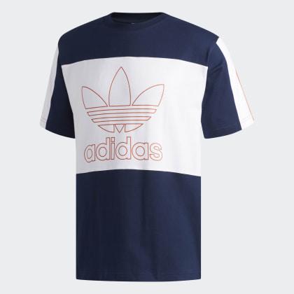 Adidas T shirt Blau Deutschland Collegiate NavyWhite Outline SpzVqUM
