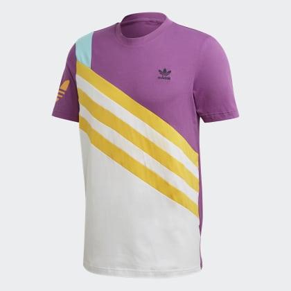Adidas T Sportive Lila Nineties shirt Rich Deutschland Mauve pMVSzU