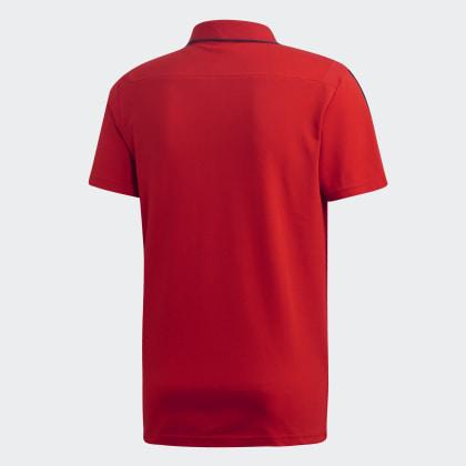 Poloshirt Rot ScarletCollegiate Arsenal Adidas Fc Deutschland Navy nwOPk0N8X