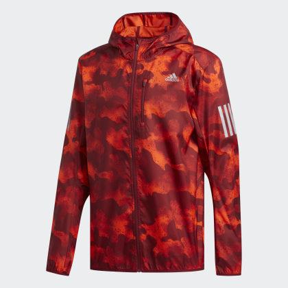 Own Deutschland Orange Adidas Run ActiveCollegiate Burgundy Jacke Camouflage The hdCrQts