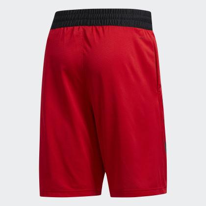 Deutschland Adidas Scarlet Sport 3 streifen Shorts Rot WD9H2IYEeb