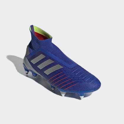 Adidas Predator Blau 19Sg Deutschland Red Bold Fußballschuh BlueSilver MetActive XPZiOku