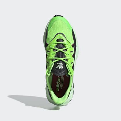 Adidas Schuh Deutschland Grün Solar GreenCore Black Glow Ozweego XZiPkTwOu