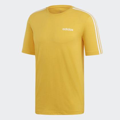 Deutschland Active 3 shirt GoldWhite Adidas Essentials T Gelb streifen CxBedWro