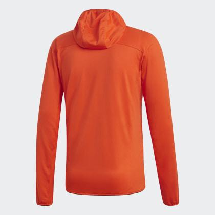 Tracerocker Fleecejacke Terrex Hooded Adidas Deutschland Orange Active 8nOZNPX0kw