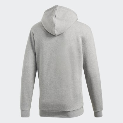 Heather Deutschland Grey Trefoil Grau Adidas Hoodie Medium sdQxtrCBh