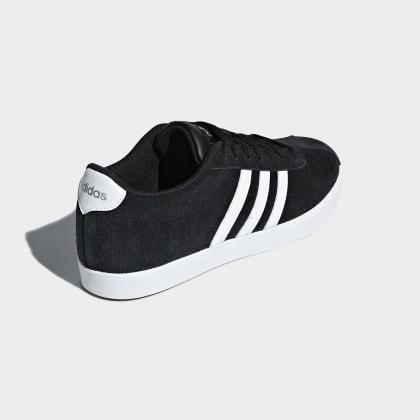 Adidas Schwarz Courtset Schuh BlackCloud Silver Core White Deutschland Matte Tl13KJFc