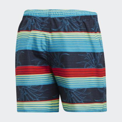 Badeshorts Red Stripe Adidas Legend Blau InkActive Deutschland 9HIDE2