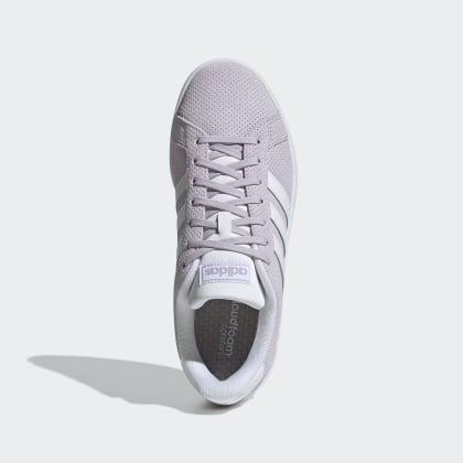 Braun White Deutschland Adidas MauveCloud Schuh Light Granite Grand Court K1cTlF3J