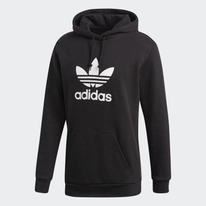 Deutschland Black Schwarz Adidas Trefoil Hoodie TlKJ1cF