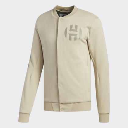 Gold Harden Jacke Varsity Beige DeutschlandRaw Adidas Vol2 CtrdhsQ
