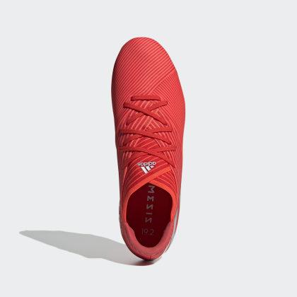 Nemeziz 19 Fußballschuh MetSolar RedSilver Active 2 Fg Rot Adidas Deutschland I9EDHW2