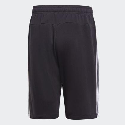 Schwarz Essentials Adidas French Black 3 Shorts Deutschland Terry streifen tsQChrd