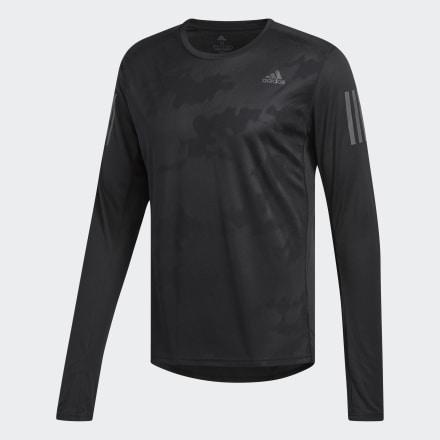 Фото - Лонгслив для бега Response adidas Performance черного цвета