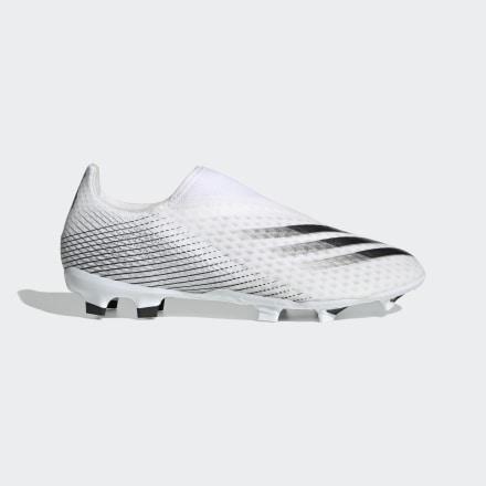 รองเท้าฟุตบอล X Ghosted.3 Laceless Firm Ground, Size : 7 UK