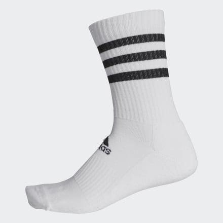 ถุงเท้าความยาวครึ่งแข้งนุ่มสบาย 3-Stripes, Size : L