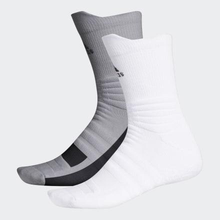 ถุงเท้าความยาวครึ่งแข้งกันลื่น (2 คู่), Size : L