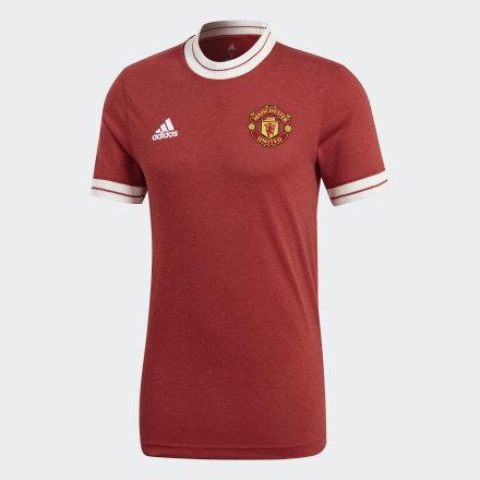 Фото - Футболку Манчестер Юнайтед Icon adidas Performance черного цвета