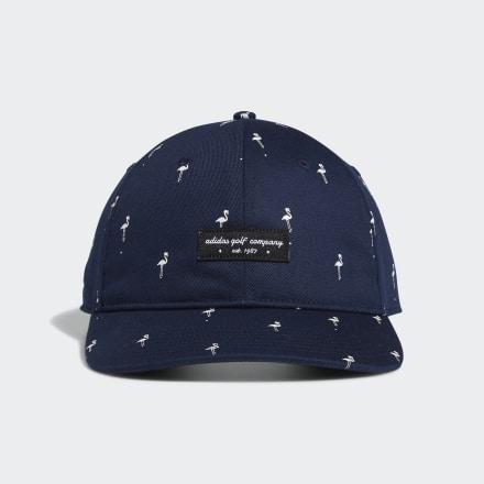 หมวกกอล์ฟพิมพ์ลายนกฟลามิงโก้, Size : OSFM