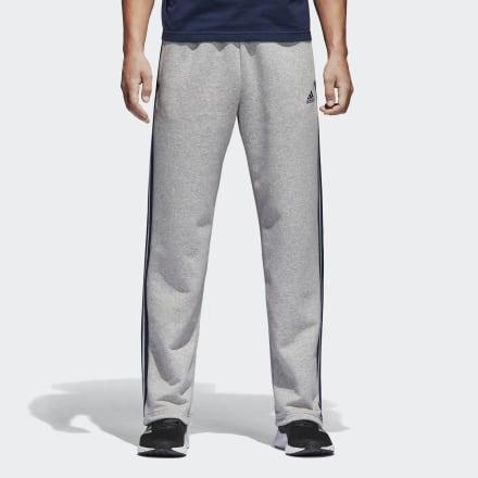 Флисовые брюки-джоггеры Essentials 3-Stripes adidas Performance