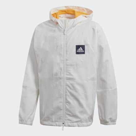 เสื้อแจ็คเก็ต adidas W.N.D. Primeblue, Size : 140