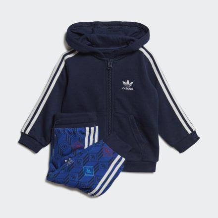 ชุดเสื้อฮู้ดและกางเกง, Size : 98