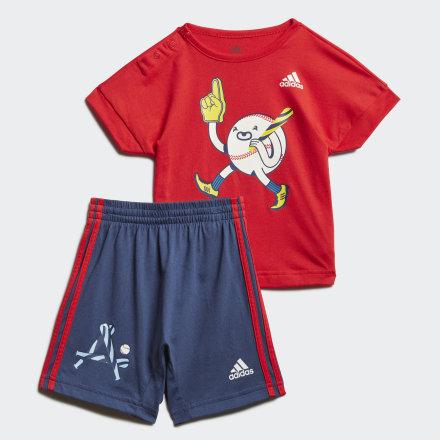 Комплект: футболка и шорты Character adidas Performance