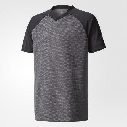 детская футболка adidas, черная