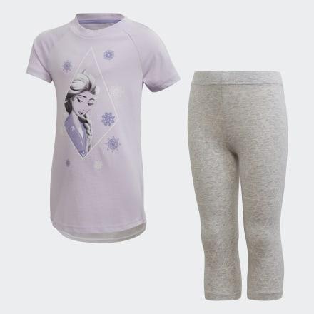 ชุดเสื้อและกางเกงหน้าร้อน Frozen 2, Size : 116