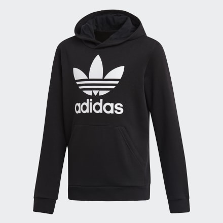 เสื้อฮู้ด Trefoil, Size : 128 Brand Adidas