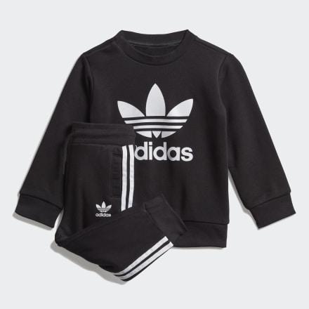 ชุดเสื้อกันหนาวคอกลมและกางเกงขายาว, Size : 74,80