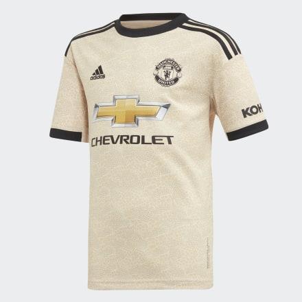 Гостевая игровая футболка Манчестер Юнайтед adidas Performance