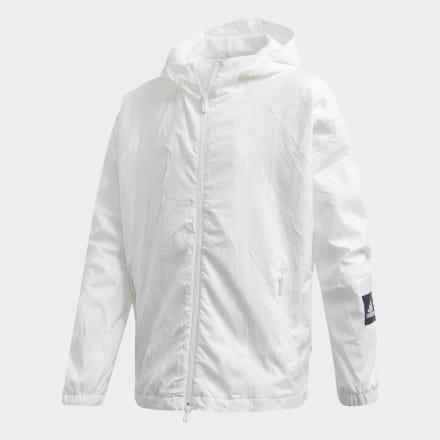 เสื้อแจ็คเก็ต adidas W.N.D. Primeblue, Size : 128 Brand Adidas