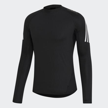 เสื้อยืด Alphaskin Sport+ 3-Stripes, Size : M