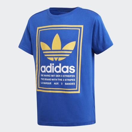 เสื้อยืดพิมพ์ลาย, Size : 110,116,122,128,134,140,146,152,158,164 Brand Adidas