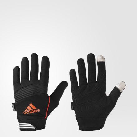 мужские перчатки adidas, оранжевые