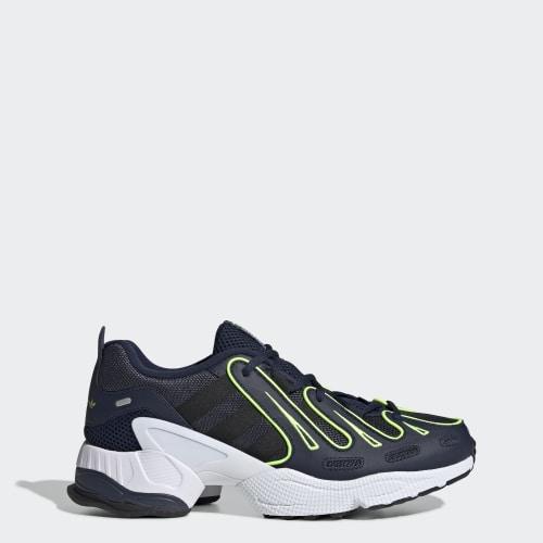 EQT Gazelle Shoes, (Collegiate Navy / Core Black / Solar Yellow), Invalid Date