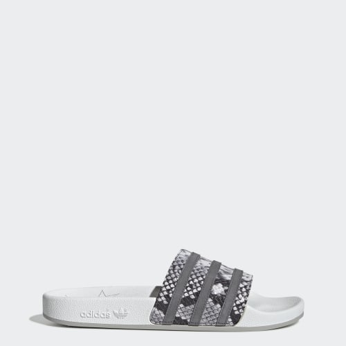 Adilette Slides, (Crystal White / Grey Four / Grey Two), Invalid Date