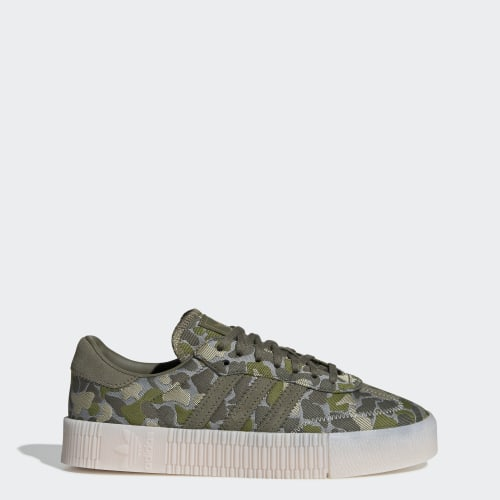 SAMBAROSE Shoes, (Ash Silver / Raw Khaki / Tech Olive), Invalid Date
