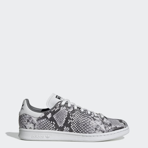 Stan Smith Shoes, (Crystal White / Grey Four / Core Black), Invalid Date