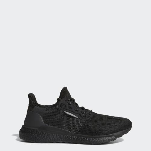 Pharrell Williams x adidas Solar Hu PRD Shoes, (Core Black / Core Black / Core Black), Invalid Date