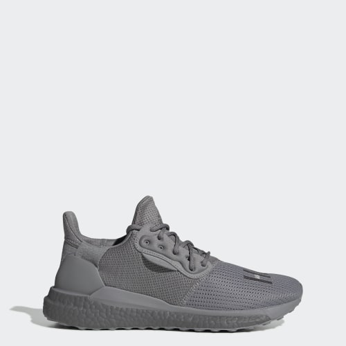 Chaussure Pharrell Williams x adidas Solar Hu PRD, (Grey Three / Grey Three / Grey Three), Invalid Date