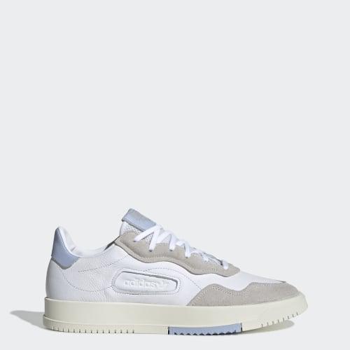 SC Premiere Shoes, (Cloud White / Cloud White / Periwinkle), Invalid Date