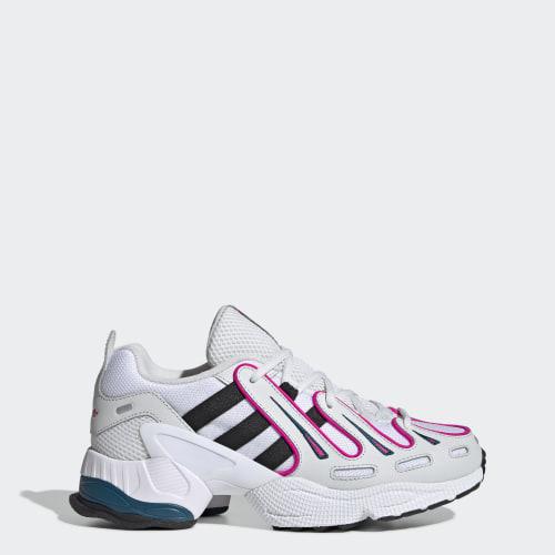 EQT Gazelle Shoes, (Crystal White / Core Black / Shock Pink), Invalid Date