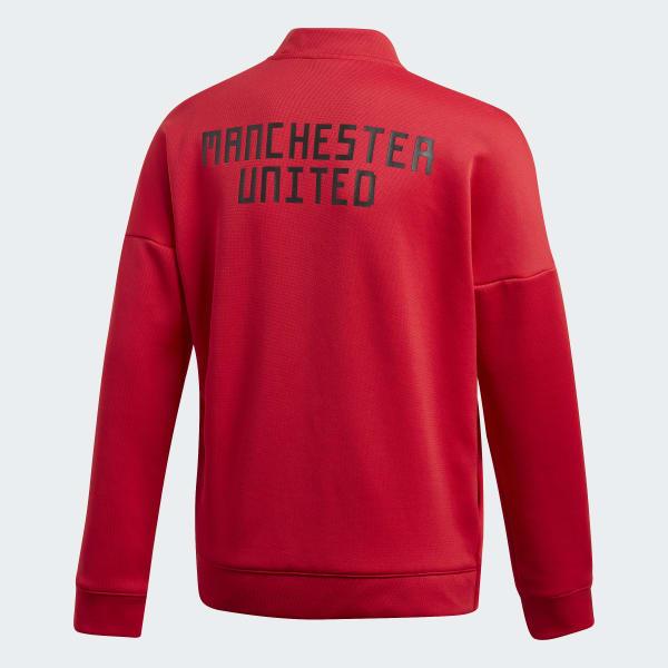 low priced 0822b f32bf Chaqueta adidas Z N E  Manchester United Rojo CW7669 02 laydown.jpg
