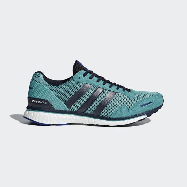 Turquoise Adizero Uk 3 Shoes Adios Adidas vfFan