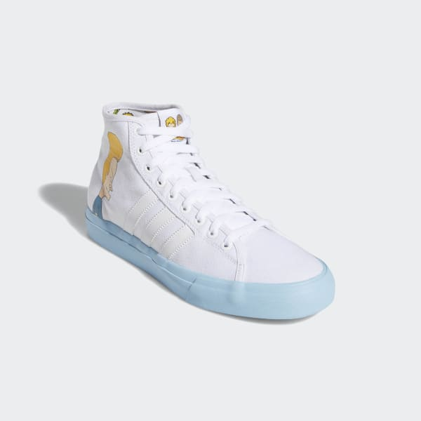Matchcourt High Butthead Remix Shoes Beavisamp; Adidas WhiteCanada bfg76y